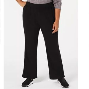 NWT Karen Scott Macys Black Fleece Lounge Pant 3X
